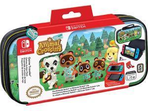 Nintendo NNS39BP Game Traveler Case Bundle - Animal Crossing Switch