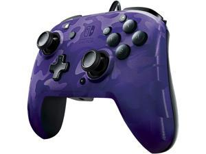 PDP - Faceoff Deluxe+ Audio Wired Purple Camo Controller - Nintendo Switch (500-134-NA-CM05)