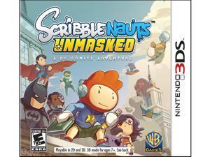 Scribblenauts UnMasked Nintendo 3DS