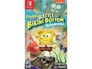 Spongebob Squarepants: Battle for Bikini Bottom Rehydrated - Nintendo Switch
