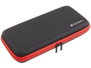 VERBATIM 99800CA Nintendo Switch Carrying Case - Black / Red