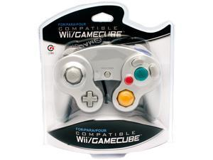 CirKa Wii/ GameCube Wired Controller (Silver)