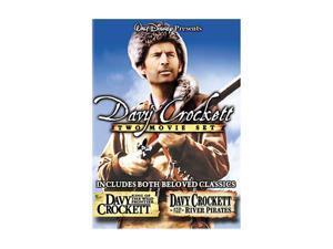 BUENA VISTA HOME VIDEO DAVY CROCKETT-50TH ANNIVERSARY DOUBLE FEATURE EDITION (DVD) D33191D