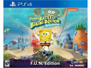 Spongebob Squarepants Battle For Bikini Bottom Rehydrated Fun Edition - PlayStation 4