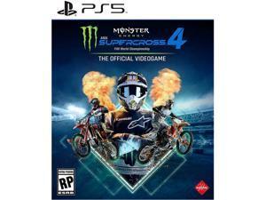 Monster Energy Supercross 4 - PS5 Video Games