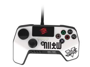 Mad Catz SFV FightPad PRO for PlayStation 3 & PlayStation 4 - White
