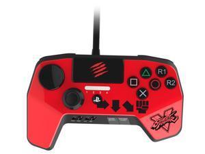 Mad Catz SFV FightPad PRO for PlayStation 3 & PlayStation 4 - Red