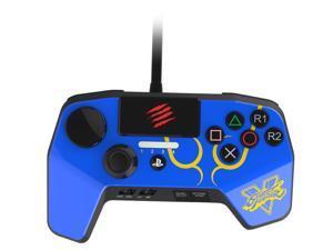 Mad Catz SFV FightPad PRO for PlayStation 3 & PlayStation 4 - Blue