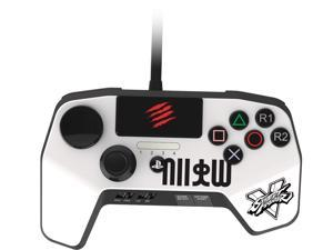 Mad Catz SFV FightPad PRO for PlayStation 3 & PlayStation 4 - New Improved D-Pad - White