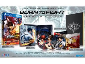"""The King of Fighters XIV """"Burn to Fight"""" Premium Edition - PlayStation 4"""