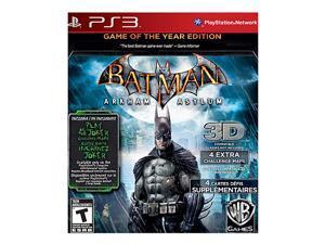 Batman Arkham Asylum Game of the year PlayStation 3