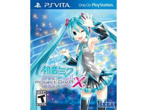 Hatsune Miku: Project Diva X (launch edition) PS Vita Games