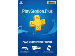 PlayStation Plus 12-Month Live Subscription Card