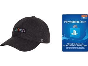 PlayStation Bundle: Bundle Includes PlayStation Launch Dad Hat, and PSN Live Card $50