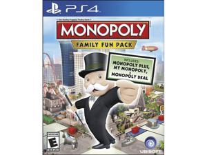 Monopoly Family Fun Pack PlayStation 4