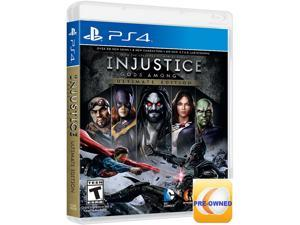 Pre-owned Injustice: Gods Among Us Ultimate Edition PS4