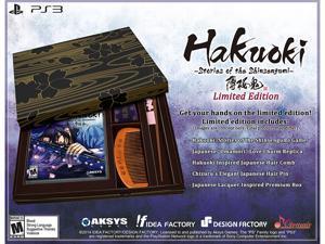Hakuoki: Stories of the Shinsengumi Collectors Edition PlayStation 3