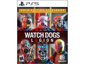 Watch Dogs: Legion Gold Steelbook Edition - PS5 Video Games