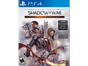 Middle Earth: Shadow Of War Definitive Edition - PlayStation 4