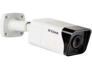 D-Link DCS-4718E 3840 x 2160 MAX Resolution Vigilance 8 Megapixel H.265 Outdoor Bullet Camera
