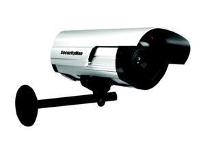 SecurityMan SM-3802 Dummy Outdoor/Indoor Camera w/ LED