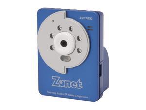 Zonet ZVC7630 640 x 480 MAX Resolution RJ45 Two-Way Audio IP Cam w/Night-Vision