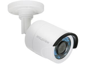 LaView LV-HB732F3TWC BNC 1080P HD Analog Camera with Cable, White