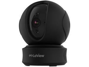 LaView ONE PT 1080P Wireless Indoor Surveillance Camera (Black)