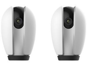 LaView R3 HD 1080P Pan-Tilt WiFi Wireless Cloud Security Camera - 2 Pack