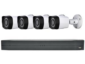 LaView Saturn Professional 4Ch DVR Surveillance System with 1TB HDD and 4x 2MP Bullet Security Cameras