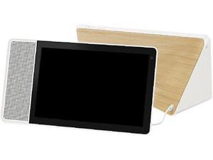 "Lenovo 10"" Smart Display with the Google Assistant (White front and Bamboo back)"