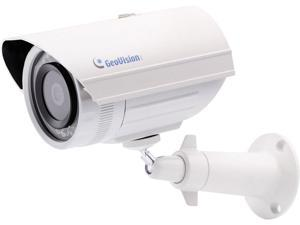 GeoVision GV-EBL1100-2F Target Series 1.3MP High Resolution Bullet Security Camera, 3.8mm Fixed Lens, Day and Night Function, IP67 Ingress Protection Rated, IK10 Vandal Resistance