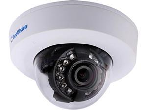 GeoVision GV-EFD2100-2F 2MP High Definition Target Series Indoor Mini Dome IP Security Camera, 3.8mm Wide Angle Fixed Lens, Low Lux Night Vision, Wide Dynamic Range