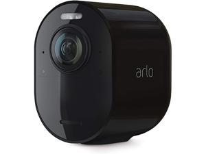 Arlo Ultra 2 Spotlight Camera | Wire-Free, 4K Video & HDR | Color Night Vision, 2-Way Audio, 6-month battery life, Motion Activated, 180° View | Black