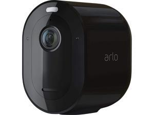 Arlo Pro 4 Wire-Free Spotlight Camera - 1 Camera Pack - 2K Video with HDR | Indoor/Outdoor Security Cameras with Color Night Vision, Spotlight, 160° View, 2-Way Audio, Siren - Black