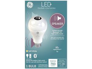 General Electric A21 Speaker LED Light Bulb - White