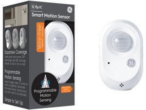 C by GE Wire-Free Smart Motion Sensor, 1 Pack White - Bluetooth, Battery Powered, Wall Mount, Shelf Mount, Ambient Light Detection