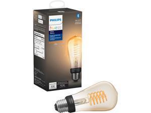 Philips Hue 551788 1-pack ST19 E26 Filament Edison Bulb