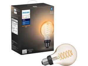 Philips Hue 551796 1-pack ST19 E26 Filament Edison Bulb