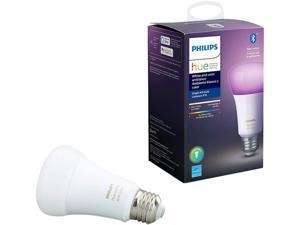 Philips Hue 548487 White & Color Ambiance A19 Bluetooth Smart LED Bulb