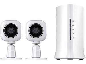 Home8 Mini Cube HD Camera (2-Pack) - 720p HD Security Camera with Motion Detection, Night Vision and 2-Way Audio