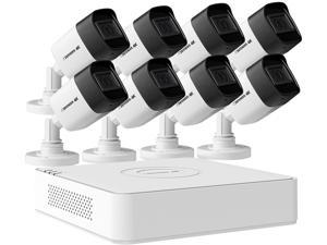 Defender Ultra HD 4K (8MP) Wired Security System with 8 Night Vision Cameras AND 2TB DVR