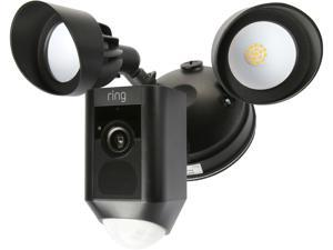 Ring Floodlight Cam, Motion-Activated HD Security Camera with built-in Floodlights, a Siren Alarm and Two-Way Talk (Black)