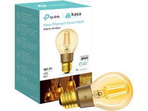 TP-LINK KL60 Kasa Filament Smart Bulb, Warm Amber