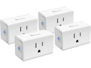 Kasa Smart Plug Mini 15A, Smart Home Wi-Fi Outlet Works with Alexa, Google Home & IFTTT, No Hub Required, UL Certified, 2.4G WiFi Only, 4-Pack (EP10P4)