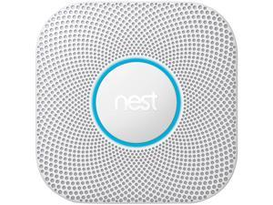 Google Nest Protect -  Wired, Wi-Fi Smoke & Carbon Monoxide 2nd Gen Alarm (S3003LWEF)