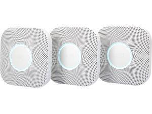 Nest Protect 2nd Gen Smoke + Carbon Monoxide Alarm (Battery) 3-packs
