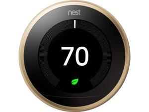 Nest T3032US Learning Thermostat - 3rd Generation - Brass