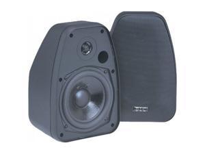 """BIC America Adatto DV52si 5.25"""" Indoor/Outdoor Speakers, Pair, Black"""