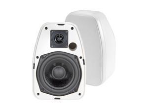 """BIC America Adatto DV52si 5.25"""" Indoor/Outdoor Speakers, Pair, White"""